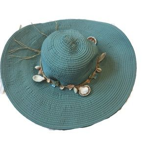 SALE Cappelli by Straworld  Hat  with Shells